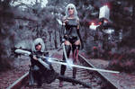 A2 and 2B by RizzyCosArt