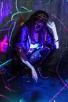 Akali K/DA Classic Neon II by rizzyun