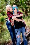 Rachel and Chloe I - Amberprice by rizzyun