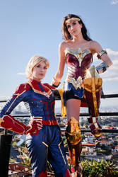 Captain Marvel x Wonder Woman I