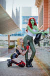 Harley Quinn x Poison Ivy - Cosplay I - Harlivy by rizzyun