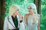 Leona Debonair x Diana III - Eclipse by rizzyun