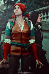 Triss and Yennefer IV
