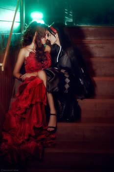 Aerith x Tifa IV - Aerti -  FFVII Remake Cosplay