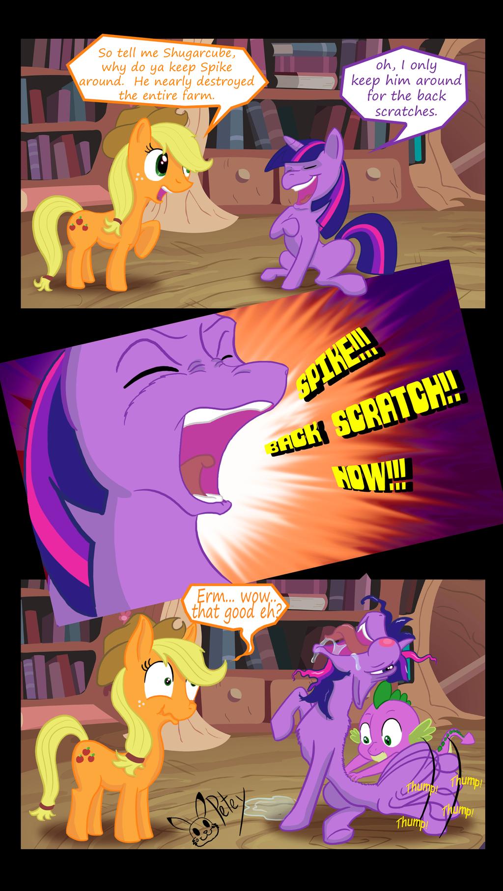 Backscratch by Pikapetey