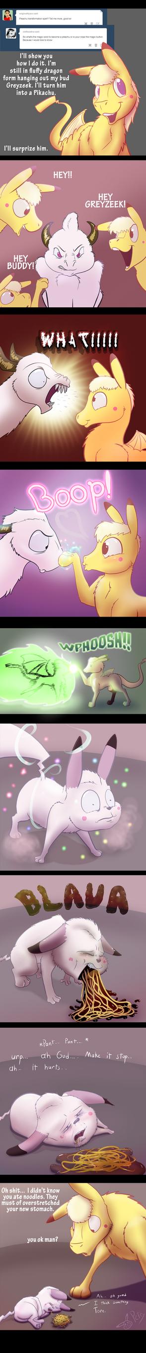 Comic Greyzeek tf by Pikapetey