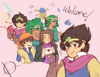 WELCOME, HEROES!!!! by PurpleTurban63