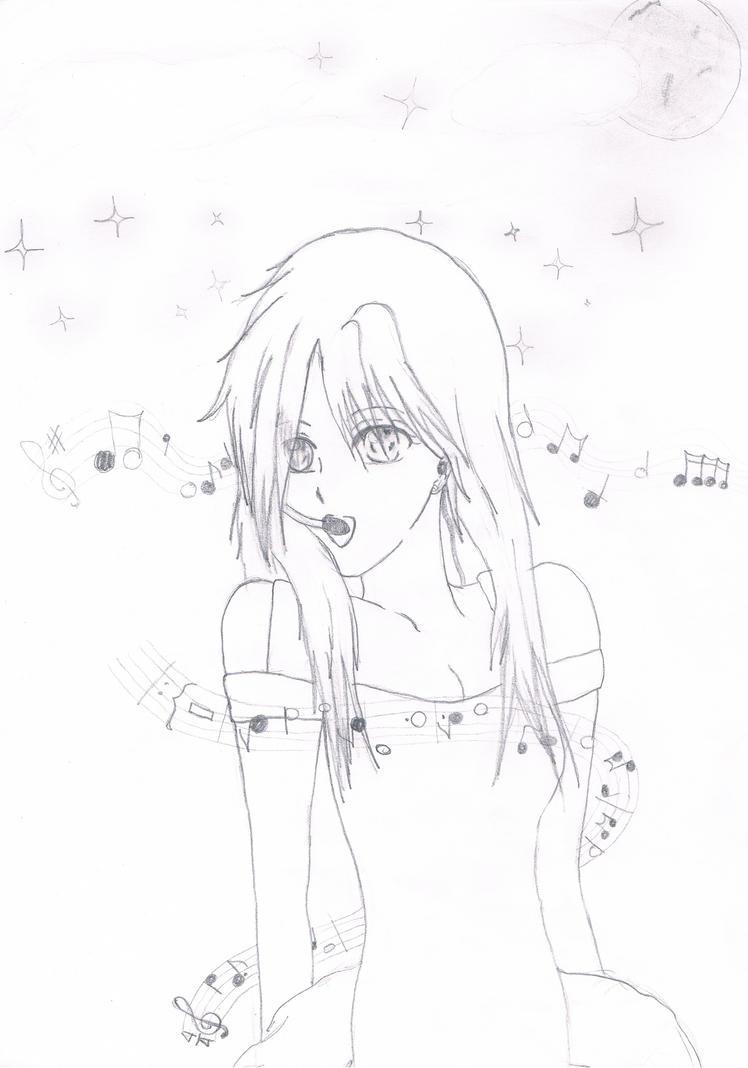 Singing Girl By AnimeAleChan On DeviantArt
