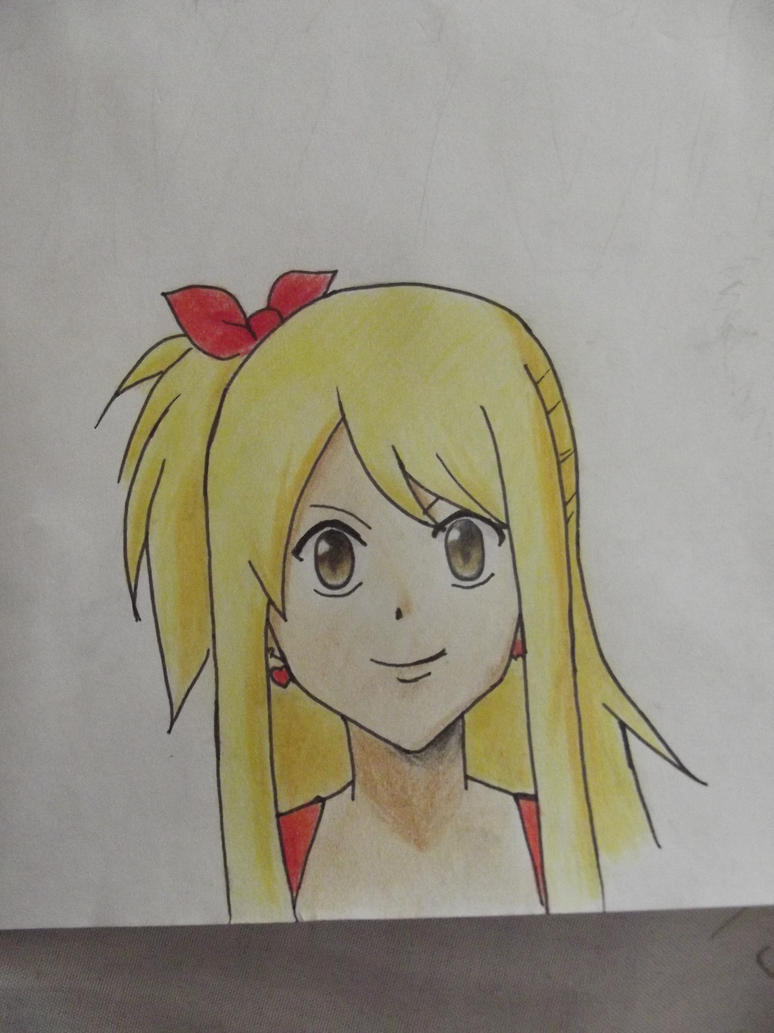 Lucy Heartfilia by AnimeAleChan