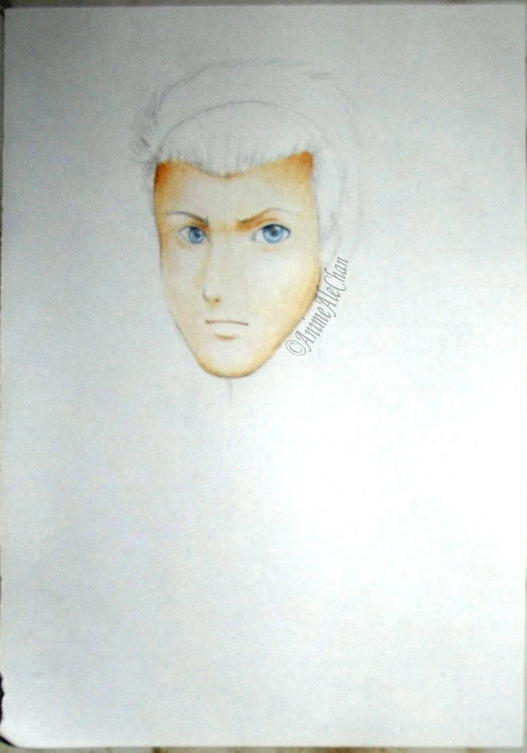 Coloring Skin with Colored Pencils - Exercise by AnimeAleChan on ...