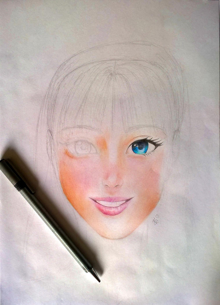 how to draw semi realistic anime