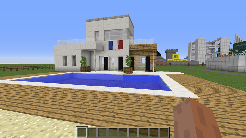 Villa minecraft by intello01 on deviantart - Minecraft villa ...