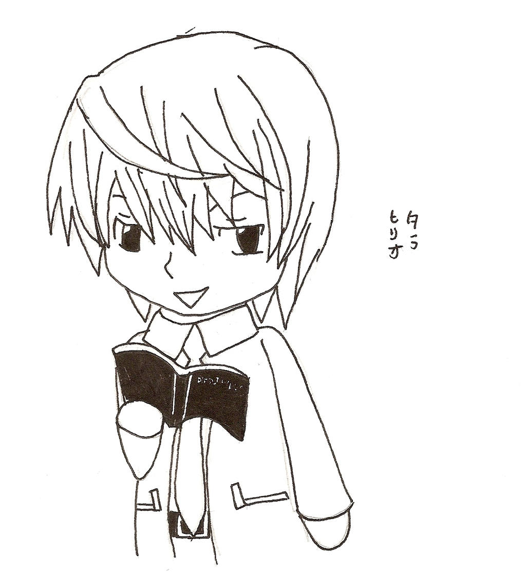 Light Yagami chibi for Dwp06 by XxTaraxKitaidexX on DeviantArt
