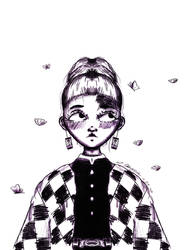 Tanjirou as a girl