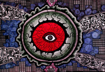 The Conscience of the Eye by Cerque