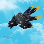 Dragon Ship by Anuden
