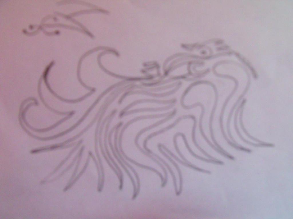 Phoenix Doodle by Anuden