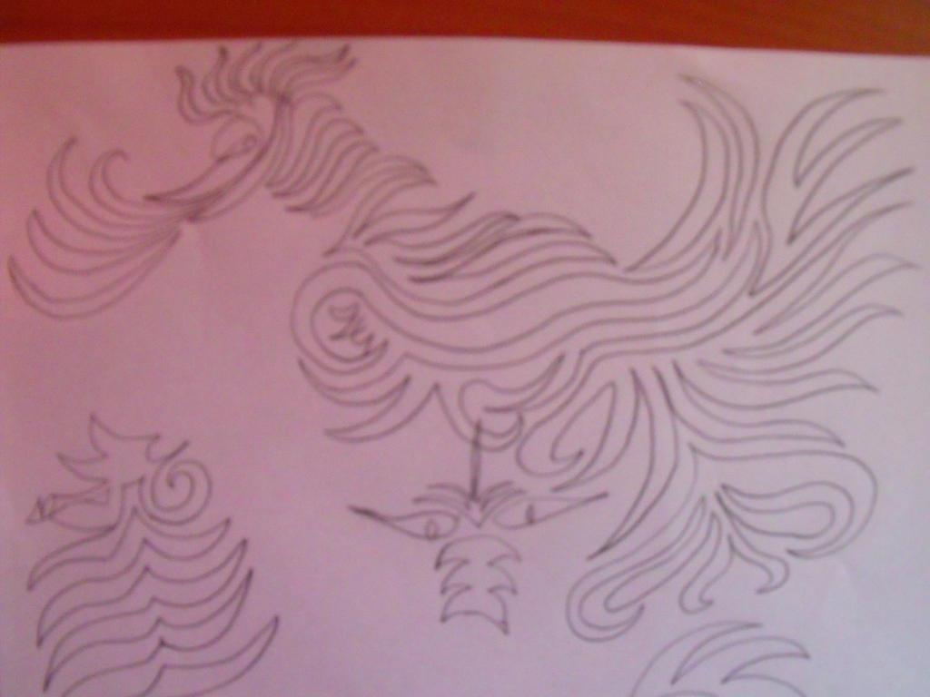 Bird Doodle by Anuden