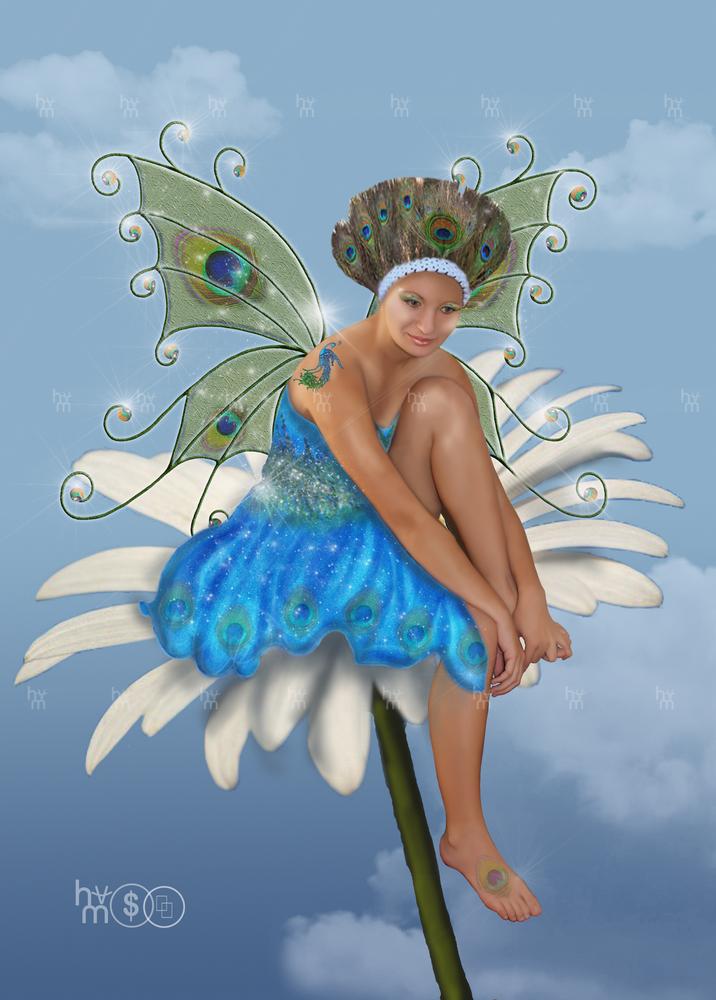 Peacock Fairy by Anuden