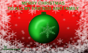Merry X-mas to all my friends