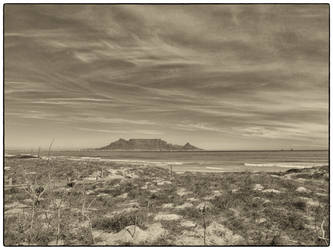 Faded Table Mountain by Anuden