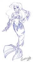 Ariel Witchblade sketch