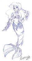 Ariel Witchblade sketch by sharon1412