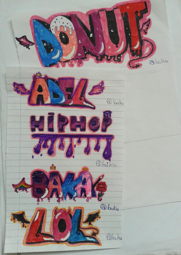 First Graffs by bakagummi