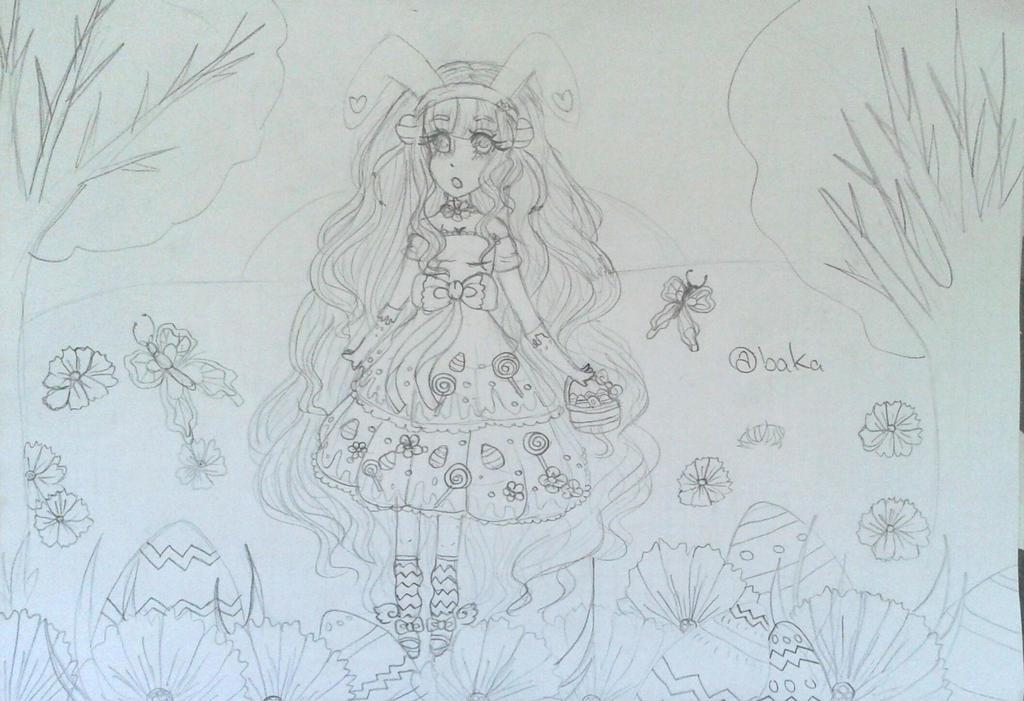 Easter Sketch by bakagummi