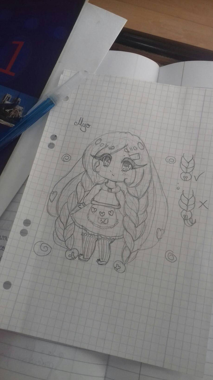 Myo sketch  by bakagummi