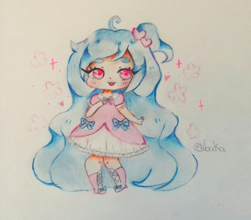 at - cutie lollipop  by bakagummi