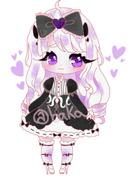 goth princess by bakagummi