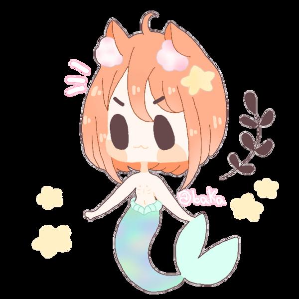 fish cat by bakagummi