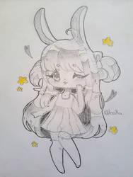 adorable bun bun by bakagummi