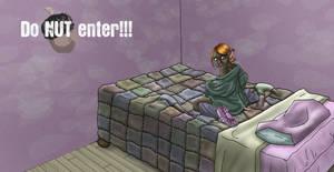 Do nut enter no light...
