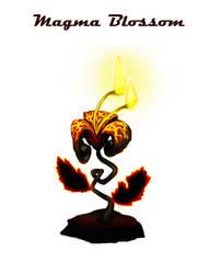 Temperature Concept art: Magma Blossom