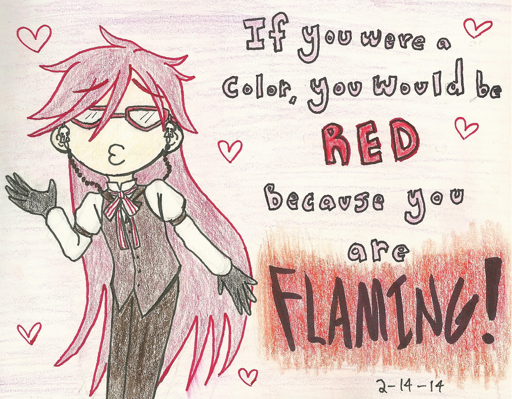 A Red Reaper for Valentine's Day by AceArtist256