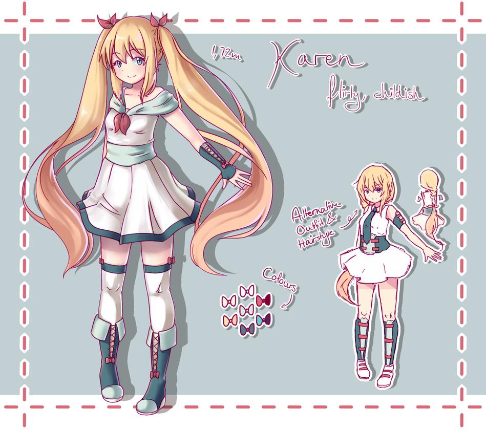 Karen - Reference Sheet by Miri-senpai