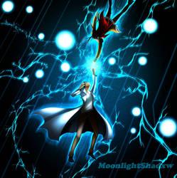Okabe And Kurisu!  by moonlightshxdow