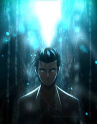Okabe Rintarou  by moonlightshxdow