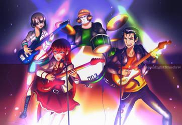 Lab mem band!  by moonlightshxdow