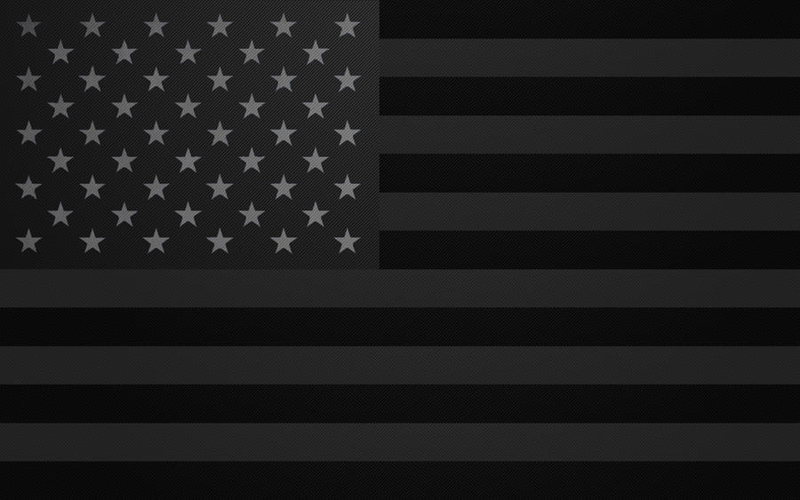 Black And White American Flag Wallpaper Download