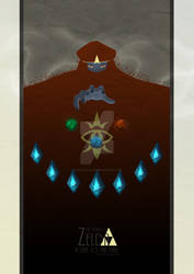 The Legend of Zelda - A Link To The Past Poster 2