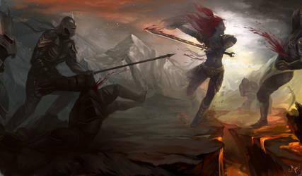 Deemsa the Warrior by Mjusi