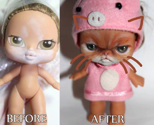 Bratz Babyz transformation
