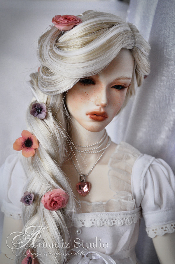 Парики для куклы