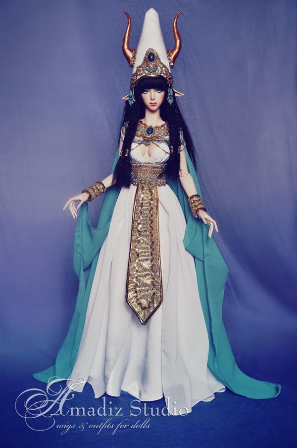 Satis - egyptian goddess by amadiz