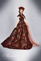 Sansa wedding dress 02 by amadiz