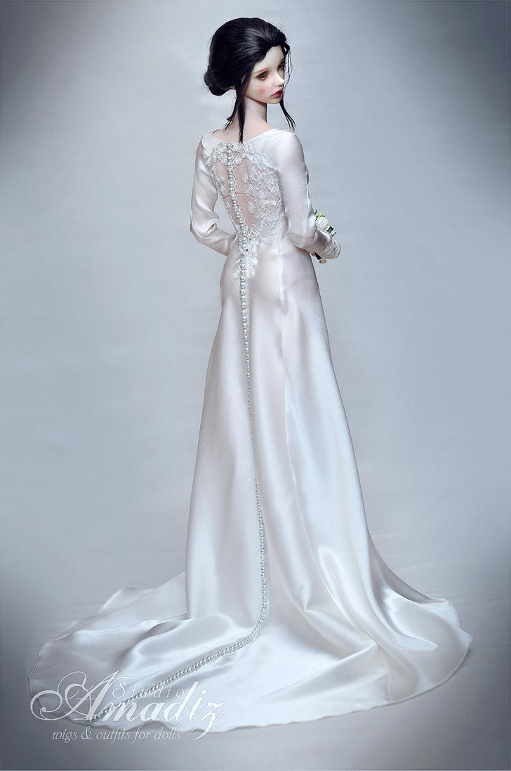 Bella swan wedding dress 01 by amadiz on deviantart for Bella twilight wedding dress