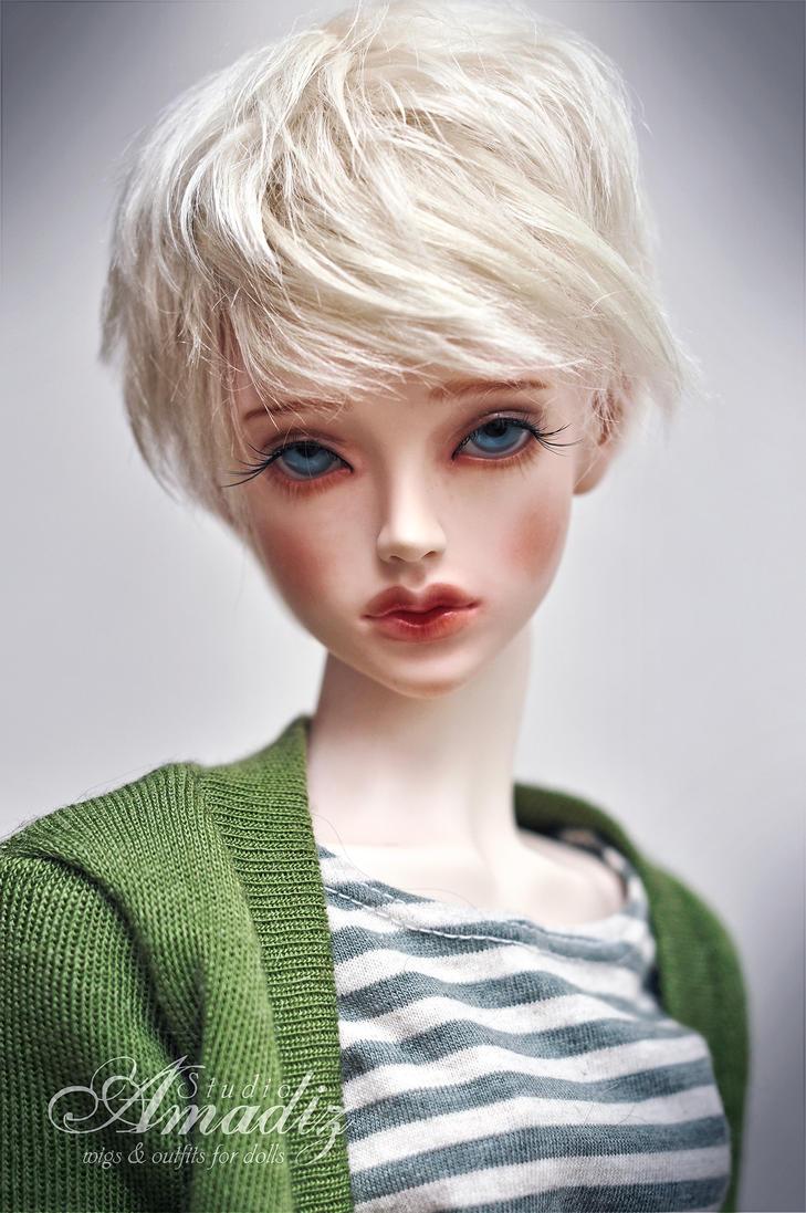 Modern blond by amadiz
